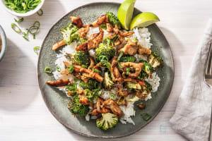 Satay Chicken Stir-Fry image