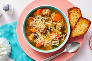 Italian Meatball Soup image