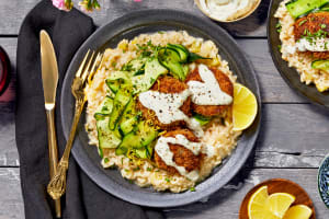 Crab Cakes with Tarragon Aioli image