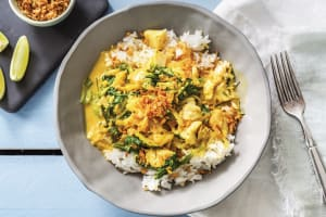 Thai Yellow Fish Curry image