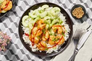 Sriracha Sesame Shrimp image