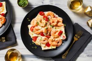 Lobster Ravioli and Shrimp image