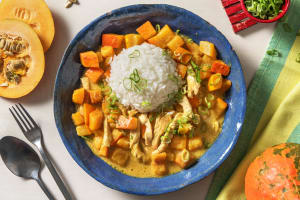 Cremig mildes Kürbis-Kokos-Curry image