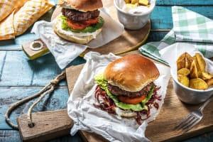 Marokkanischer Rindfleisch-Burger image