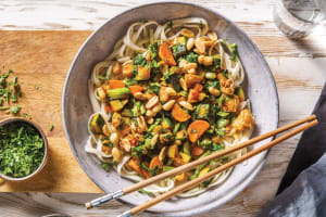 Chinese Sichuan Chicken & Noodle Stir-Fry image