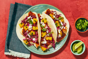 Blackened Tilapia Tacos image
