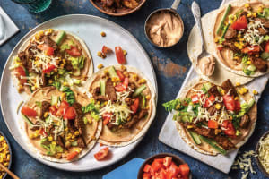 American BBQ Beef Tacos image