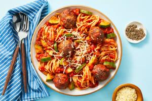 Classic Spaghetti and Meatballs image