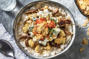 Chermoula Beef & Garlic Rice Bowl image
