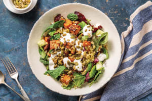 North African Spiced Pumpkin & Freekeh Bowl image