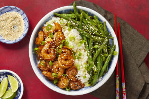 Sizzling Hoisin Shrimp image