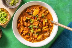 Zoete-aardappelsoep met limoen image