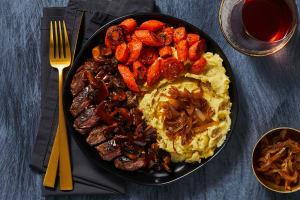 Bavette Steak in a Mushroom Sauce image