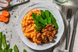 Filet mignon et jus de viande maison image