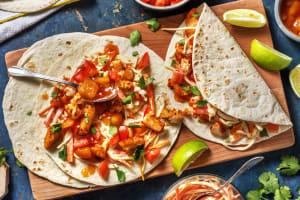 Mexicaanse viswraps met kool-wortelsalade image