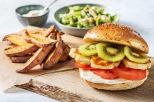 Kiwi-Halloumi-Burger image