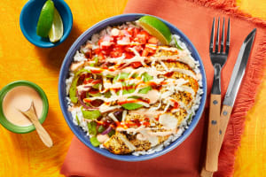 Chicken & Guac Burrito Bowls image