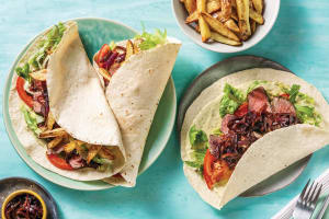 Italian Steak & Creamy Pesto Wraps image
