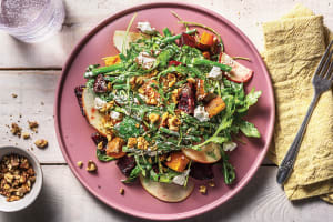 Roasted Beetroot & Goat Cheese Salad image