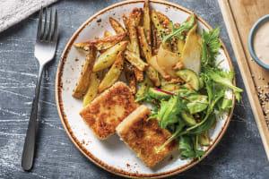 Crumbed Tofu Schnitzel image
