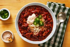 One-Pot Pork & Black Bean Chili image