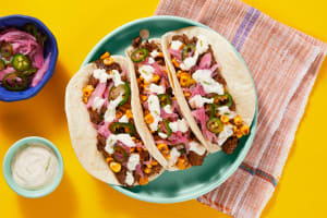 Mexican Pork & Street Corn Tacos image