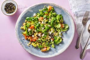 Salade de couscous perlé à l'avocat et à la feta image