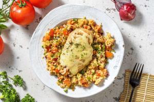 Filet de poulet au four à la tomate et au poivron image