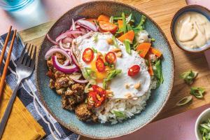 Sesame-Soy Cauliflower Rice Bowl image