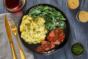 Beef Tenderloin & Shallot Pan Sauce image