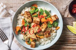Peanut Tofu & Sesame Rice image