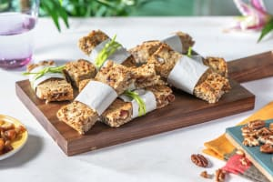 Barres avoine, dattes et noix de pécan image