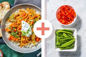 Curry à l'indienne au fenouil et au maïs image