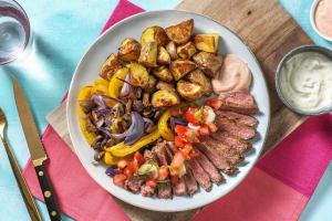 Fajita mit Simmentaler Striploin-Steak image