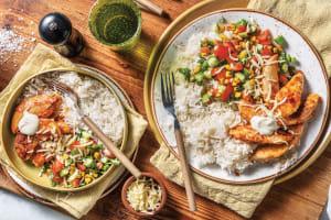 Tex-Mex Chicken & Garlic Rice image