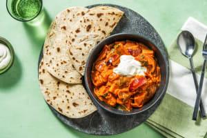 Indisches Süßkartoffel-Tikka-Curry image