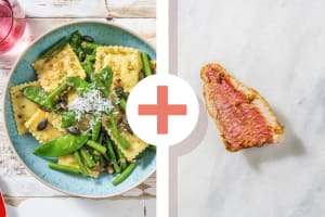 Ravioli et filet de sébaste en extra image