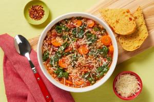Italian Garden Veggie Soup image