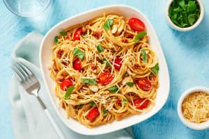 Sun-Dried Tomato & Basil Spaghetti image