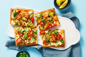 Zucchini & Tomato Flatbreads image