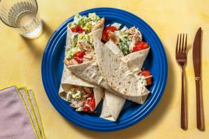 Caesar Salad Wraps image