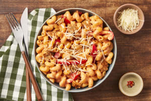 Pork Sausage & Roasted Pepper Pasta image
