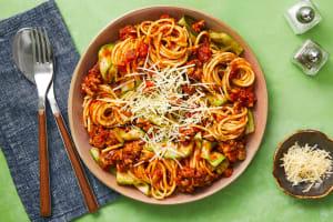 Pork Sausage Spaghetti Bolognese image