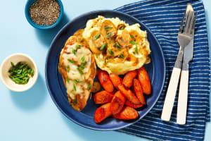 Cheesy Smothered Mushroom Chicken image