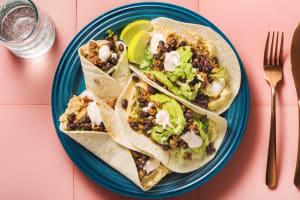 Tacos mit Hackfleisch und Hummus image
