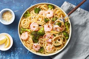 Garlic Butter Shrimp Scampi image