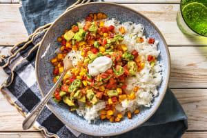Burrito-Bowl mit Chorizo image