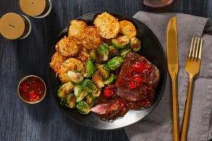 Beef Tenderloin & Balsamic Tomatoes image