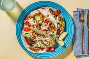 Kipfajita's met mini-tortilla's image