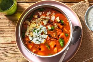 Herbstlicher Gemüseeintopf mit Bacon image